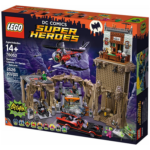 76052 BATMAN SERIE TV CLASSICA - BATCAVERNA