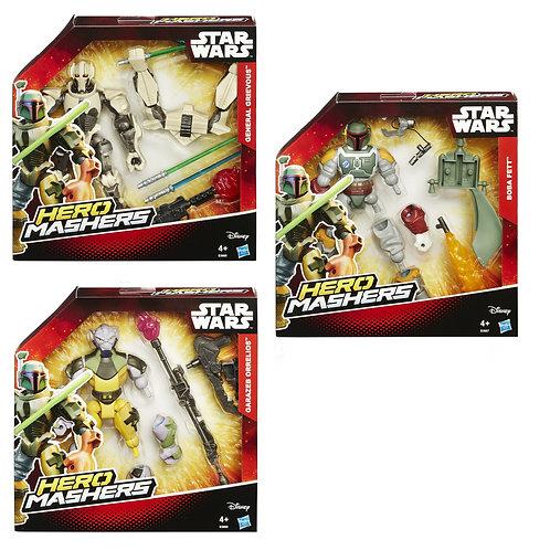 B3666 STAR WARS HERO MASHERS DELUXE ASS.