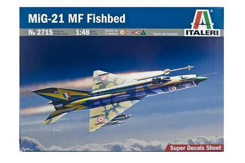 2715 - MIG-21 MF FISHBED 1:48