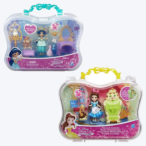 B5341 PRINCESS LK SMALL DOLL SCENE STORY
