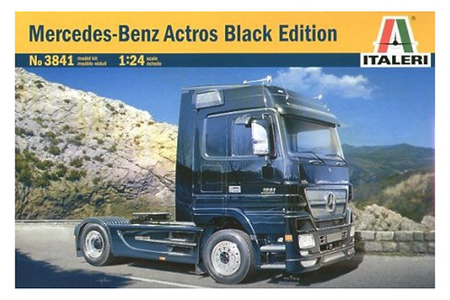 3841 - MERCEDES BENZ ACTROS BLACK ED. 1:24