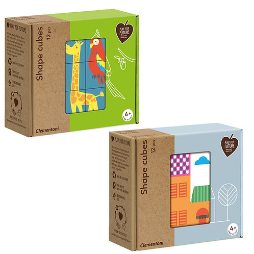 SHAPE CUBES - PLAY FOR FUTURE