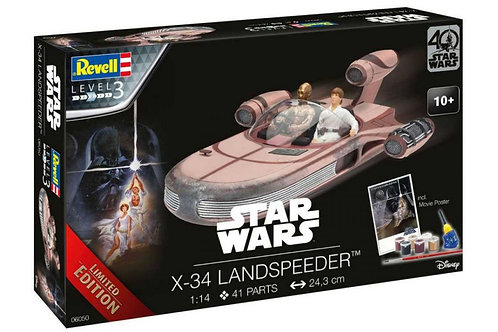 06050 - X-34 LANDSPEEDER LIMITED EDITION 1:14