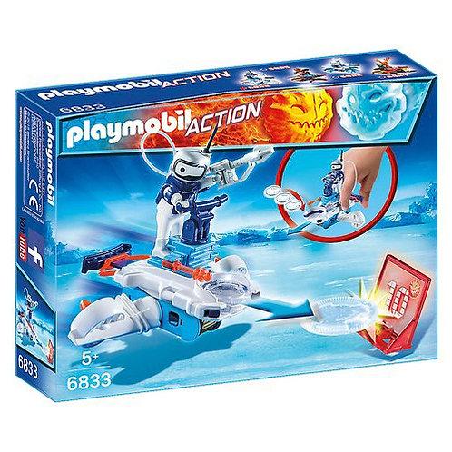 6833 ICE-ROBOT CON SPACE-JET LANCIADISCHI