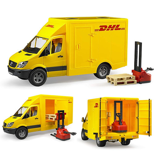 02534 MERCEDES BENZ SPRINTER DHL