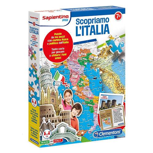 PUZZLE 104 PEZZI SAPIENTINO ITALIA