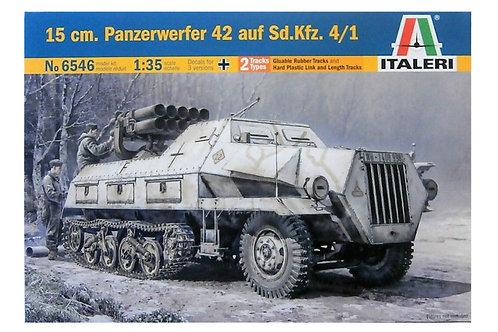 6546 - PANZERWERFER 42 AUF SD.KFZ 4/1 1:35