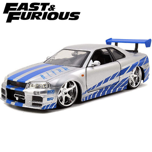 1:24 BRIAN'S NISSAN SKYLINE GT-R FAST AND FURIOUS
