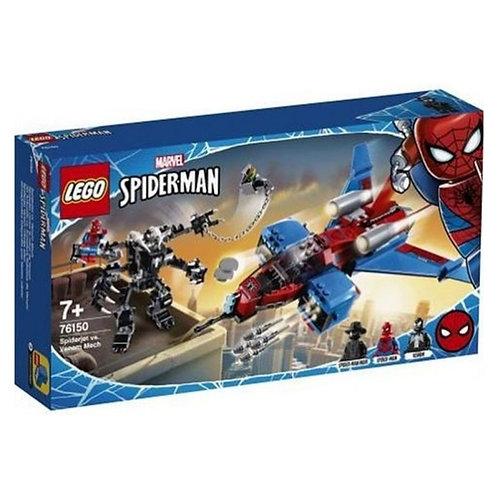 76150 SPIDERJET VS MECH VENOM