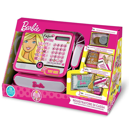 REGISTRATORE CASSA DI BARBIE