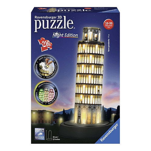 PUZZLE 3D TORRE DI PISA NIGHT EDITION