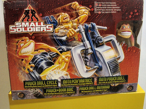 SMALL SOLDIERS MOTO PERFORATRICE