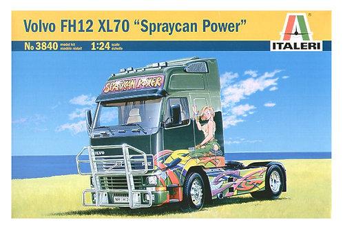 "3840 - VOLVO FH12 XL70 ""SPRAYCAN POWER"" 1:24"