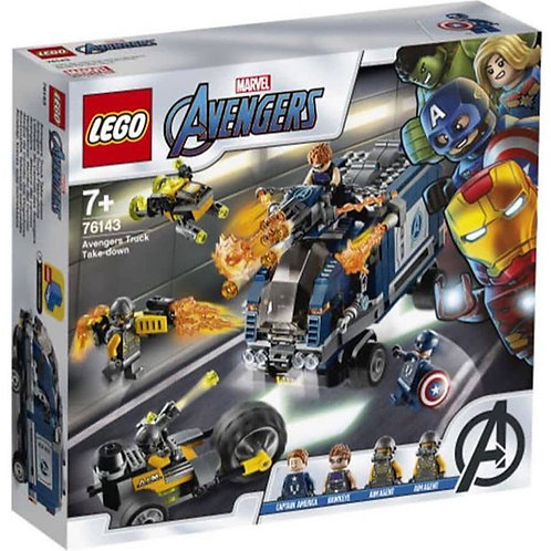 76143 AVENGERS ATTACCO DEL CAMION