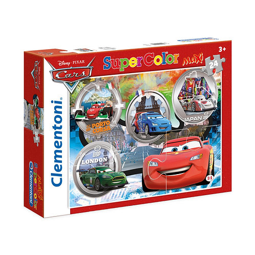 PUZZLE 24 PEZZI MAXI CARS RACES