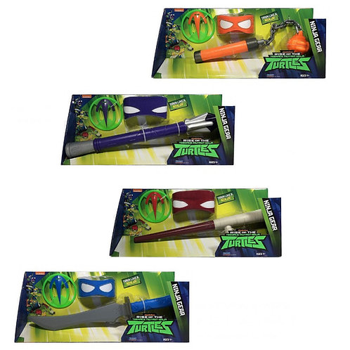 TURTLES SET ARMI NINJA ASSORTITI