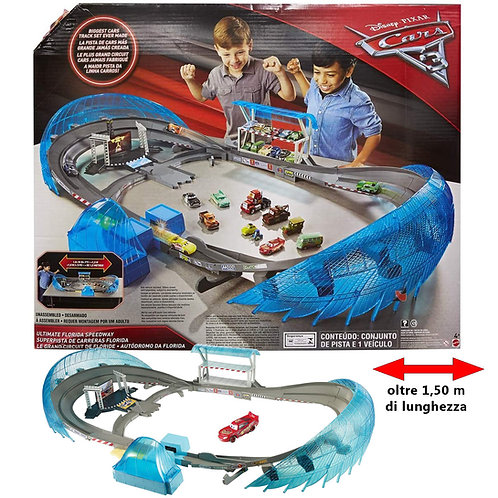 CARS 3 MEGA PISTA ULTIMATE FLORIDA SPEEDWAY FCW02