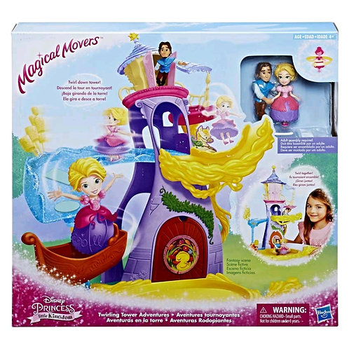 E1700 MAGICAL RAPUNZEL DELUXE PLAYSET