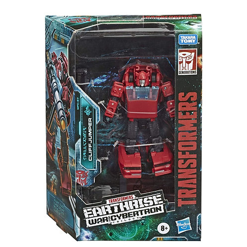 WAR FOR CYBERTRON EARTHRISE DELUXE CLIFFJUMPER