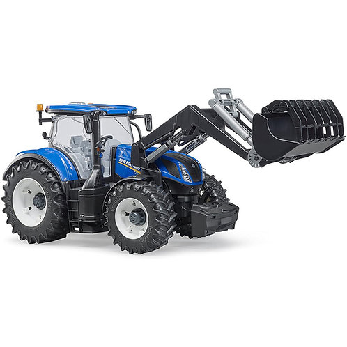 03121 TRATTORE NEW HOLLAND CON PALA FRONTALE