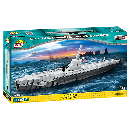 4806 SOTTOMARINO CLASSE GATO USS WAHOO SS238