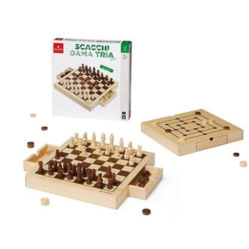 SCACCHI DAMA TRIA BASIC 30 CM