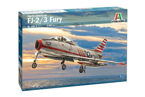 2811 - NORTH AMERICAN FJ-2/3 FURY 1:48