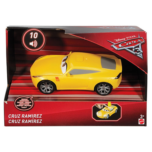 CARS 3 CRUZ RAMIREZ EFFETTI SONORI FDD54