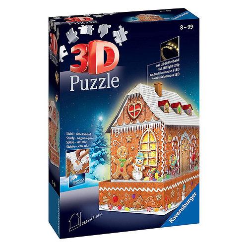 PUZZLE 3D CASA PAN DI ZENZERO NIGHT EDITION