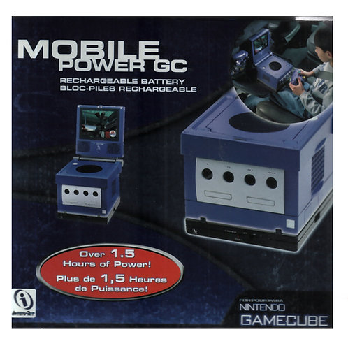 GAME CUBE MOBILE POWER GC - BATTERIA RICARICABILE
