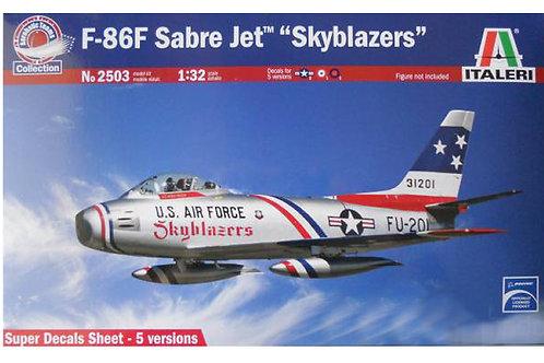 "2503 - F86F SABRE JET ""SKYBLAZERS"" 1:32"