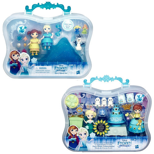 B5191 FROZEN FEVER SMALL DOLL STORY PACK ASS.