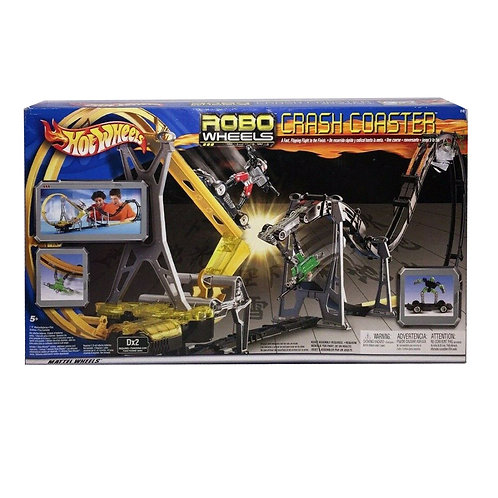 HOT WHEELS ROBOWHEELS CRASH COASTER 57451