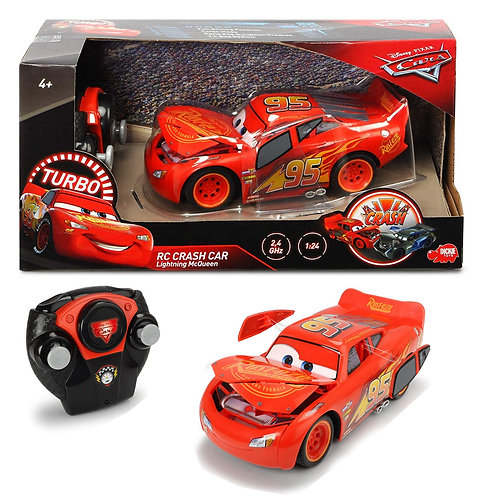 RC CRASH CAR SAETTA MCQUEEN