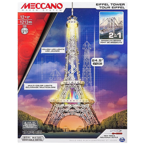 MECCANO TOUR EIFFEL CON LED