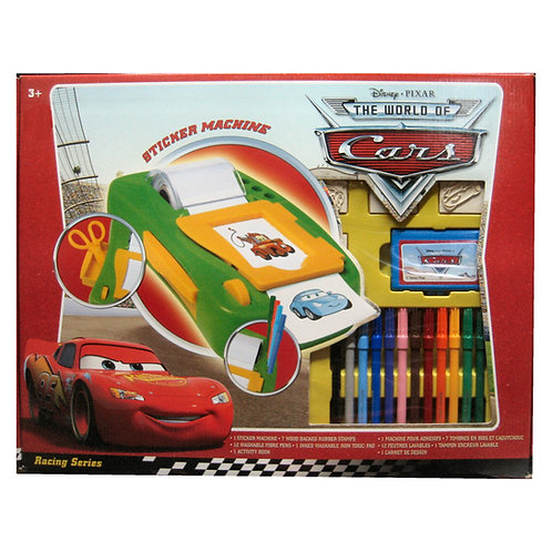 CARS STICKER MACHINE