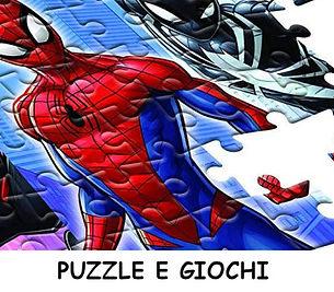 Supereroi Puzzle e giochi