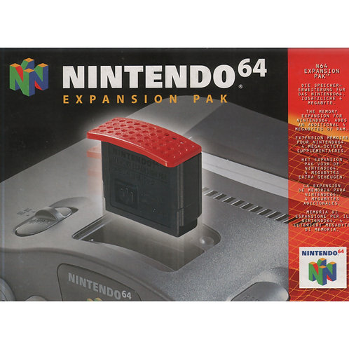 NINTENDO 64 EXPANSION PACK