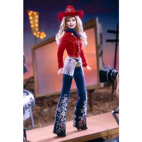 55487 BARBIE COWGIRL CHIC '02