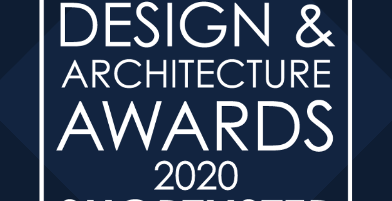 We are taking part in the International Design and Architecture Awards 2020!
