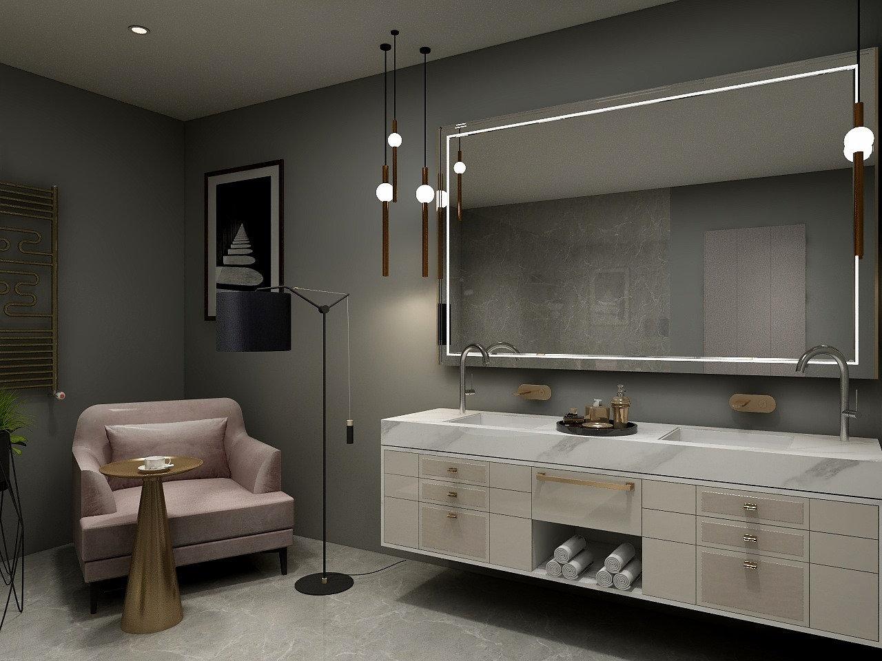 Kambario 3D vizualizacija