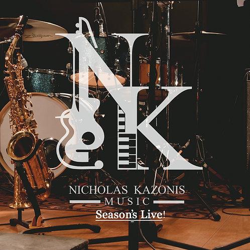Season's LIVE! CD