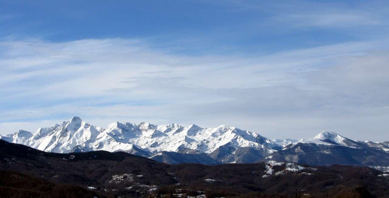 La chaine du mont Vallier 2838m
