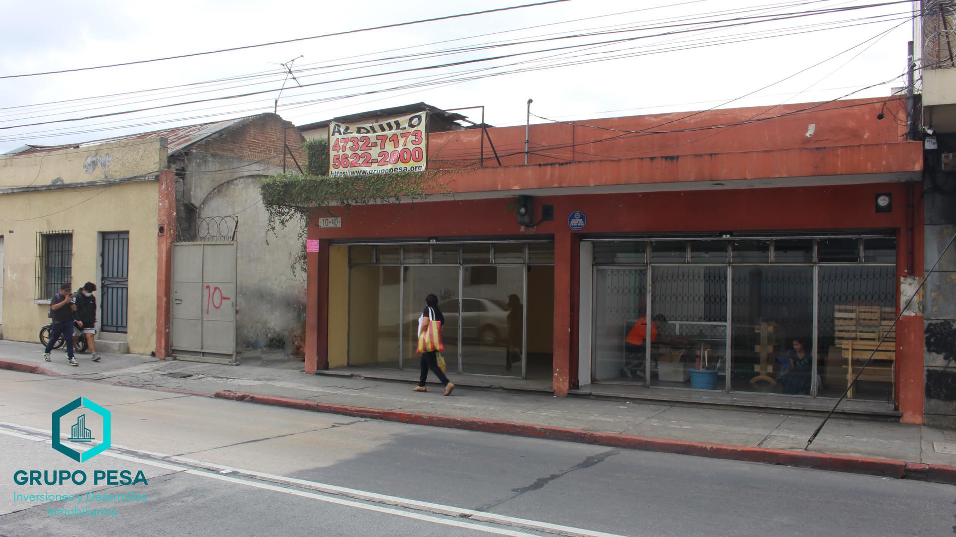 Local Comercial | 10 Ave. 10-40 Zona 1 | Cd. de Guatemala