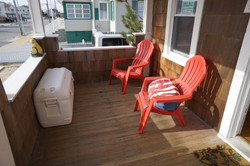 Relax on our oceanview porch