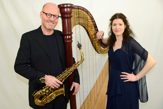 Saxophon & Harfe