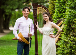Panflöte/Querflöte & Harfe