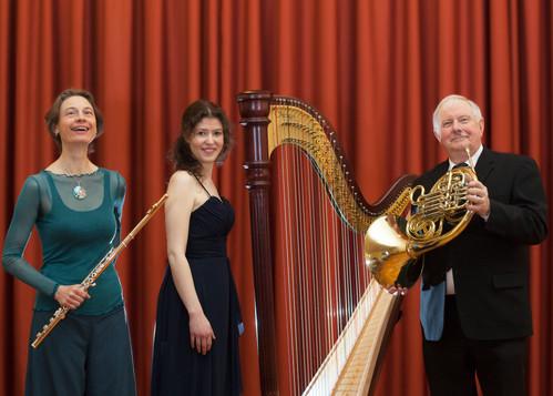 Trio Horn Flöte Harfe