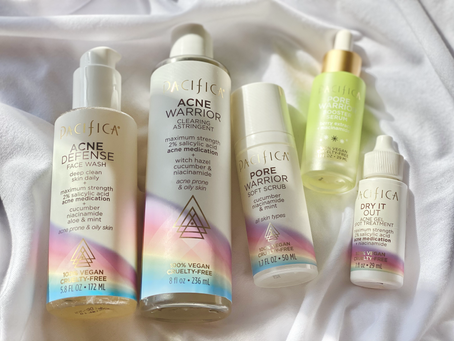 An Introduction to Pacifica Beauty and their Acne Warrior Line!