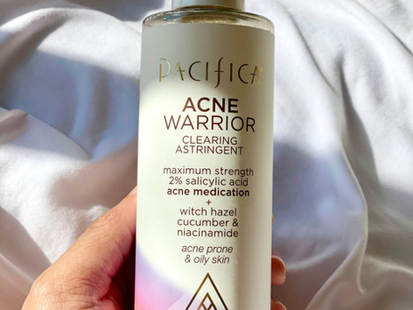 2-Month Update With Pacifica Beauty Acne Warrior Line